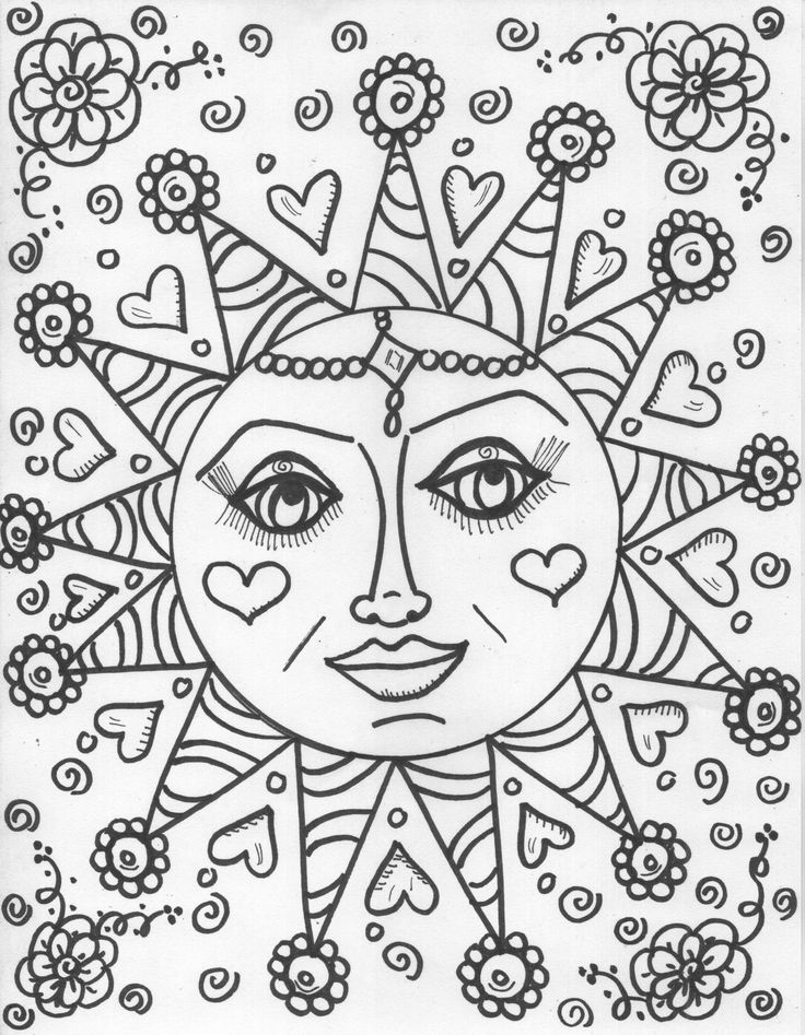 Coloring Book Pagesdesign Your Own