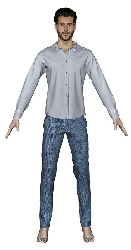 La société parisienne Fitle (Fit & Style) propose une application en réalité augmentée où vous générez votre avatar à partir de 2 vues: face & profil, pour ensuite essayer des vêtements ajustés (fit) de différentes marques en ligne. ||| https://www.facebook.com/wearefitle ||| http://modelab.fr/la-realite-augmentee-et-la-fashiontech/