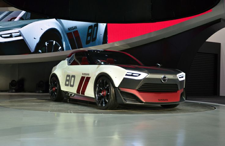 "The #Nissan IDx #NISMO is a more sporty model ""that looks as if it came directly from a driving simulator""."