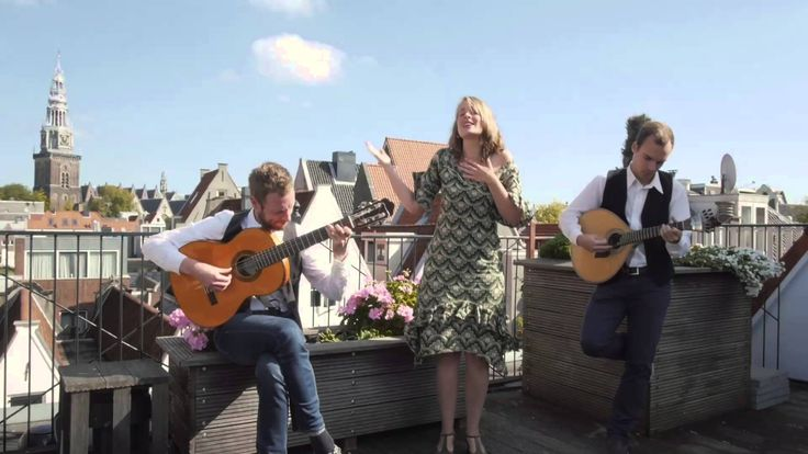 Deolinda Recorded @ top floor of Bulldog Hotel Amsterdam Trial for Balcony TV Amsterdam