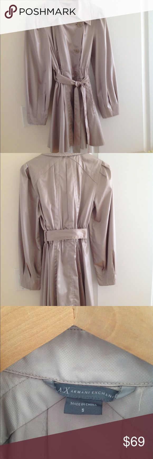 Selling this Armani Exchange coat. Size S. on Poshmark! My username is: mary_ru. #shopmycloset #poshmark #fashion #shopping #style #forsale #A/X Armani Exchange #Jackets & Blazers