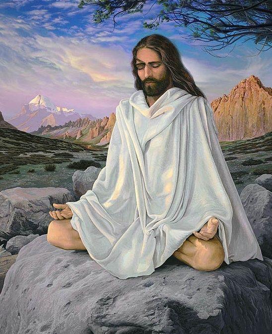 My favorite picture of Jesus so far