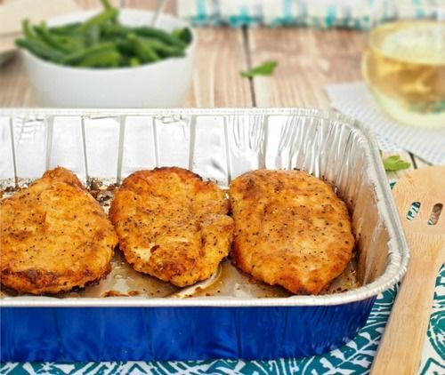 Oven-Baked Fried Chicken -- oh yeah, baked not fried!