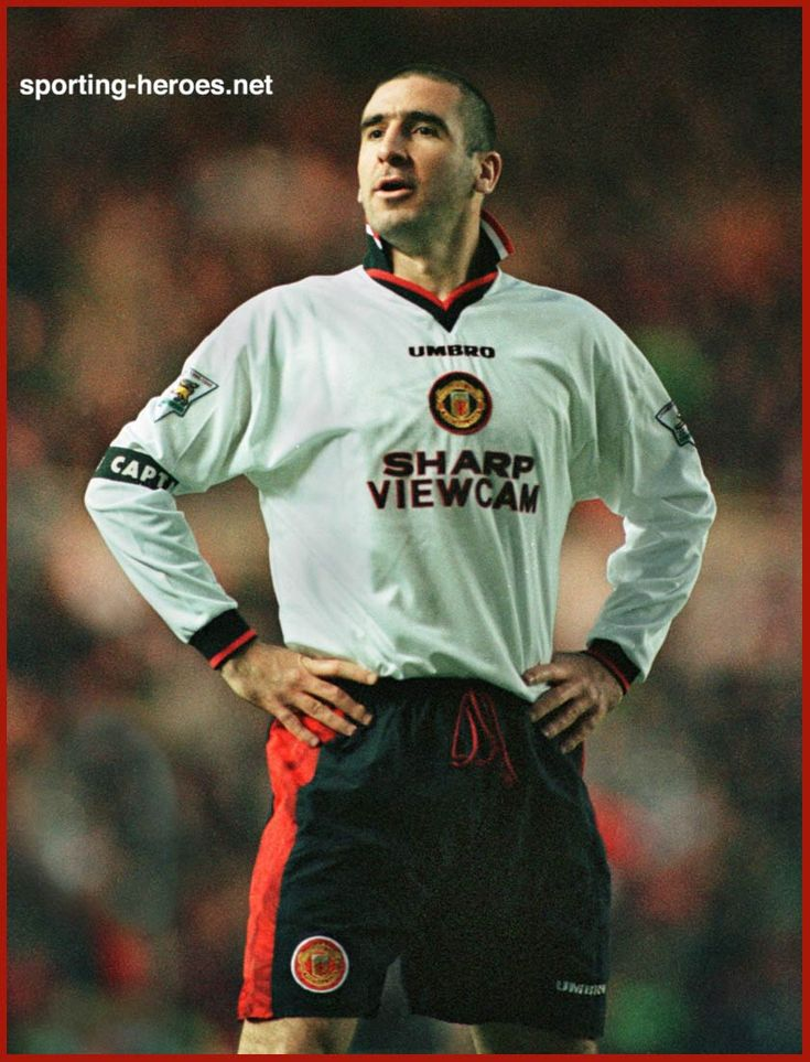 Eric CANTONA - League appearances for Man Utd. - Manchester United FC