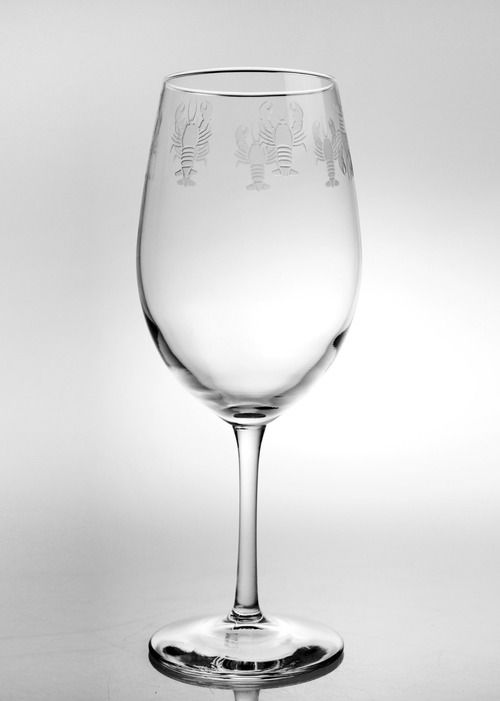 Lobster Pod Large Wine Glasses - Set of 4
