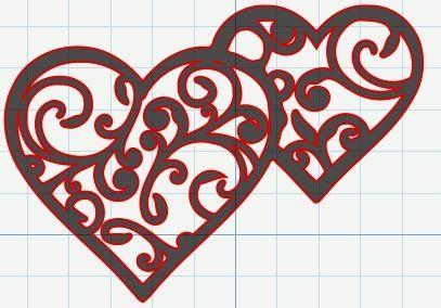 valentine hearts graph activity