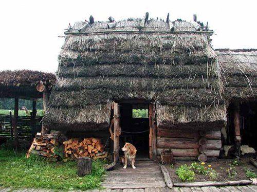 Деревенские дома