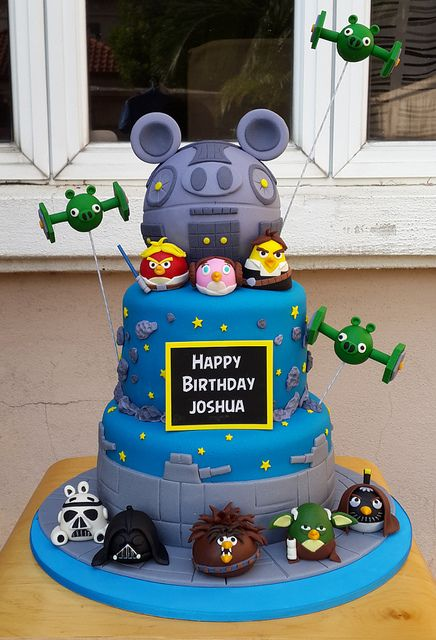 160 best Angry Birds Cakes More images on Pinterest Angry