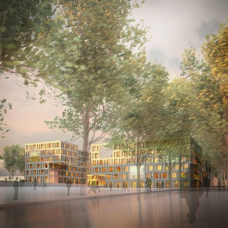 KCAP and ARLETTE SCHNEIDERS ARCHITECTS win competition in Luxemburg