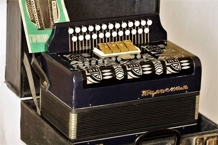 Accordion Tulskaya. Was never in use. In working condition. A great instrument for its money! | eBay!