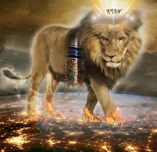 Lion of the tribe of judah in the bible