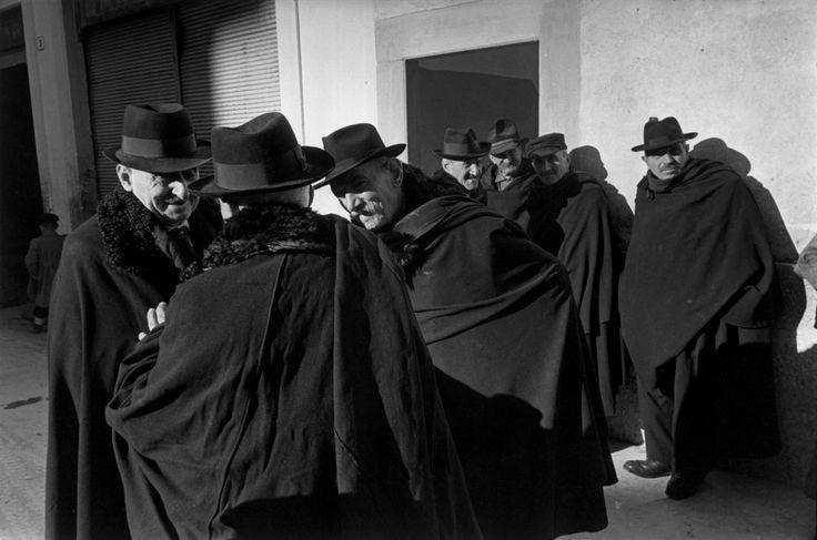 Magnum Photos -  Henri Cartier-Bresson // ITALY. Abruzzo. Scanno. 1951.