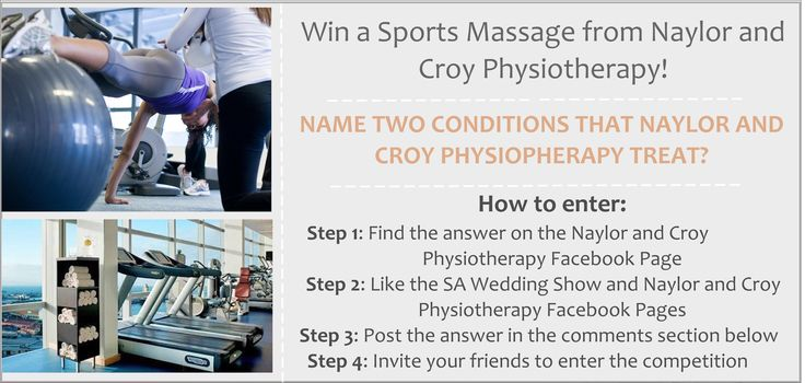 For more information on how to enter - see our FB page: www.facebook.com/thesaweddingshow