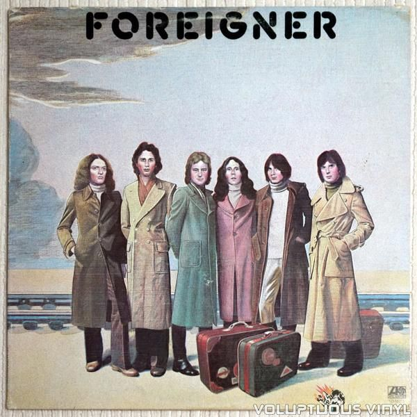 Debut album for rock band Foreigner.