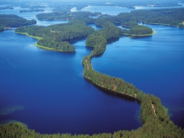 Punkaharju. #Finland, a country of thousands of lakes and islands.