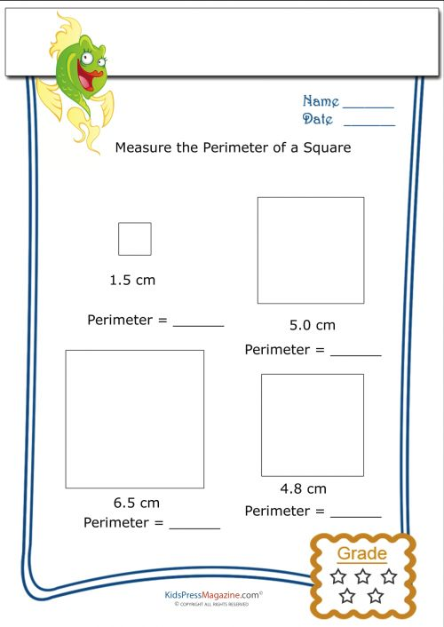 measure perimeter worksheet square 4 perimeter worksheets worksheets and math worksheets. Black Bedroom Furniture Sets. Home Design Ideas