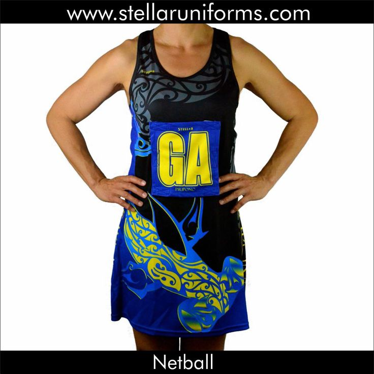 Netball A-Line Dress. Maori. Cultural Design.