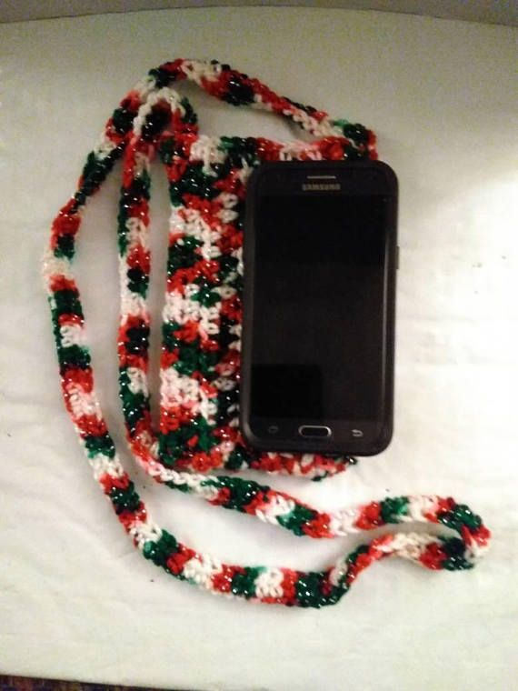 Check out this item in my Etsy shop https://www.etsy.com/listing/560895872/christmas-crochet-cross-body-cell-phone