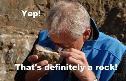 me, whenever i'm in geology class