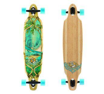 Sector 9 Lookout 2015 Complete Bamboo Longboard Skateboard New