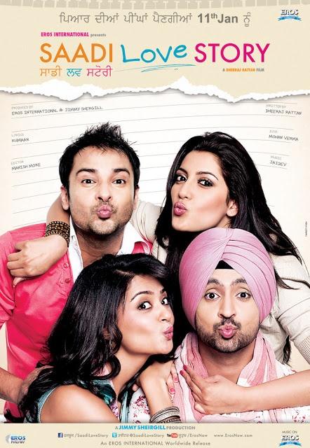 SAADI LOVE STORY DVDSCR Love story, Diljit dosanjh