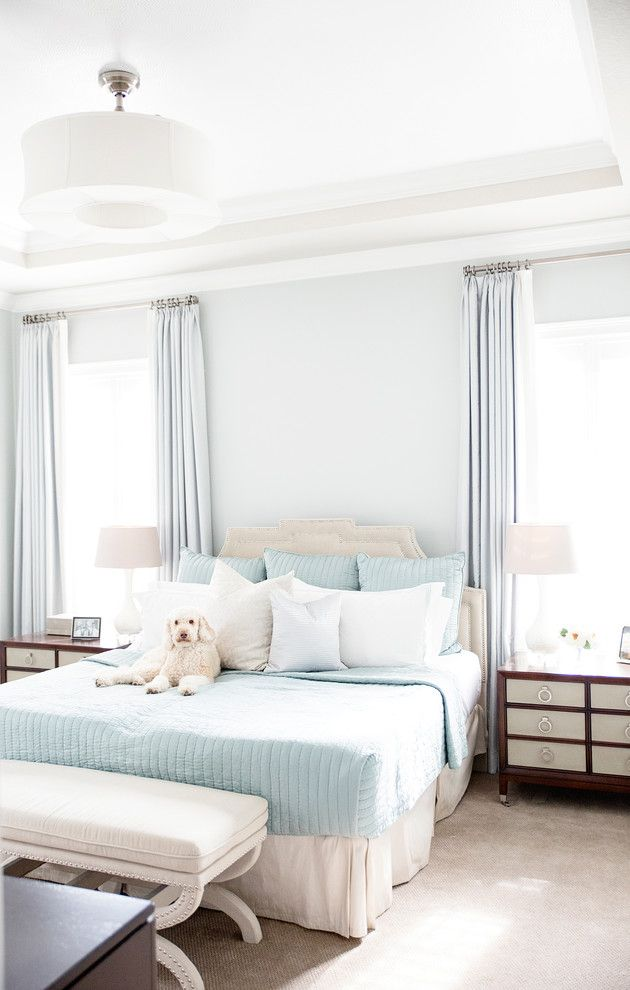 hudson park bedding chaise drawers storage bed lamps closet windows curtains sheets transitional design of Cool Beds to Peek at If You're a Fan of Hudson Park Bedding