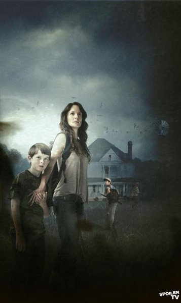 the walkers are sometimes freaky but love the show