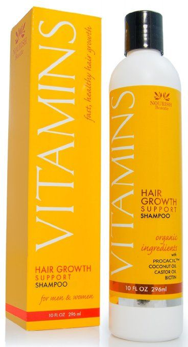 Vitamins Hair Loss Shampoo – 121% Regrowth and 47% Less Thinning – With DHT Blockers and Biotin for Hair Growth – 2 Month Supply | WOMAN SHOP