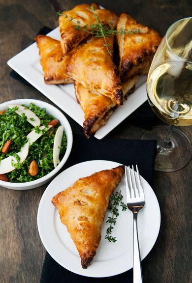 chanterelle mushroom hand pies recipe | use real butter