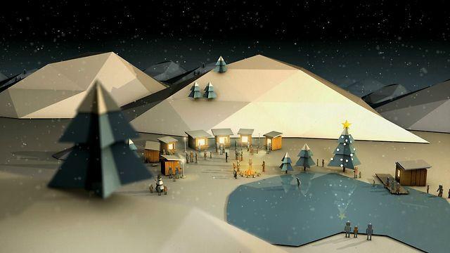 "KLSI Bank: ""Christmas Season"" by Pixelbutik. Director / Illustrator: Jan Richter"