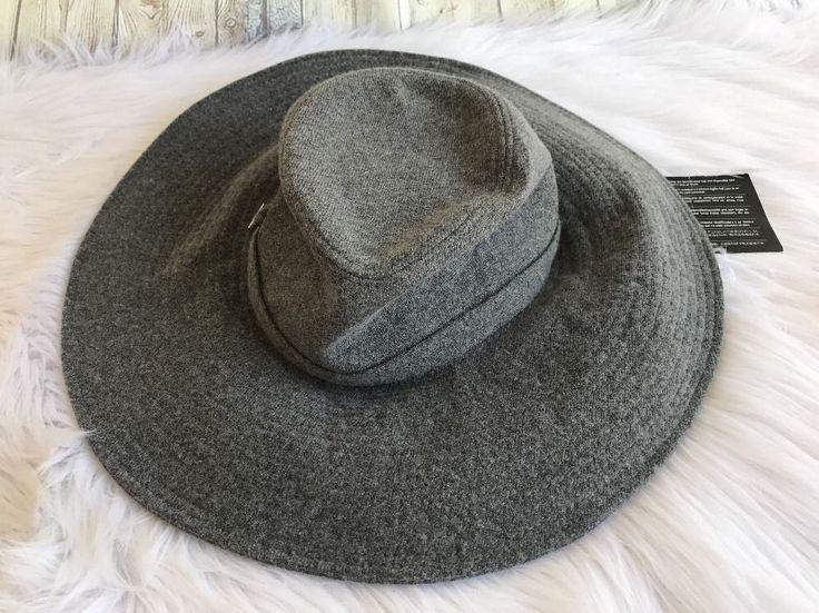 Pringle of Scotland Floppy Brim Hat Cashmere Wool Wide Coachella Festival Large #PringleofScotland #Floppy #festivals