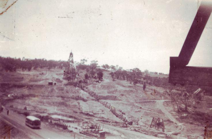 Construction of Rocklands Reservoir