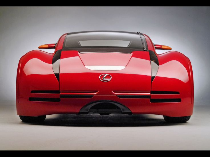 lexus concept from minority report rear 1024x768 wallpaper