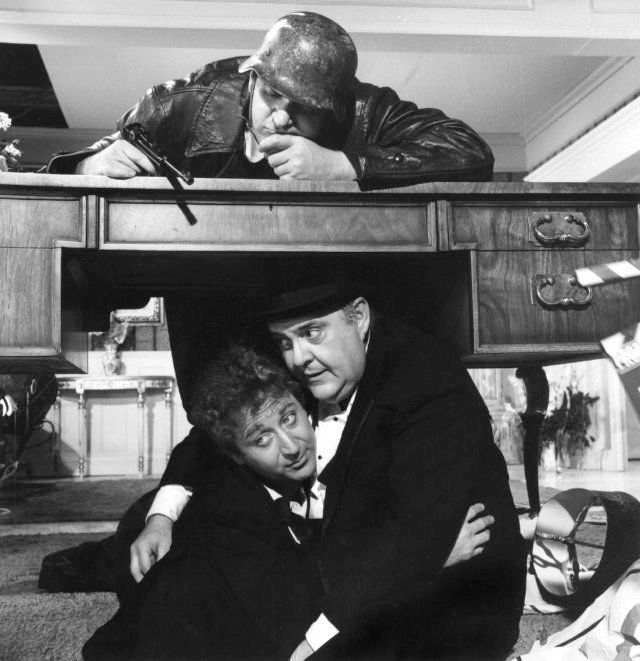 """The Producers (1968) Gene Wilder, Zero Mostel ....""""Don't be stupid, be a smarty, come and join the Nazi Party!"""""""