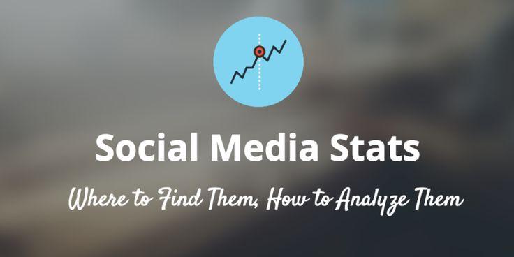 """Where toFind Your #SocialMedia Stats""   https://blog.bufferapp.com/social-media-stats?utm_content=buffer38caa&utm_medium=social&utm_source=pinterest.com&utm_campaign=buffer  #socialmediatips"
