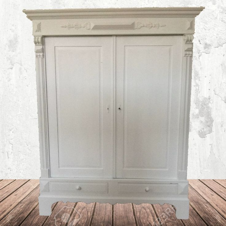 "Antieke brocante Franse kast ""Design White"""
