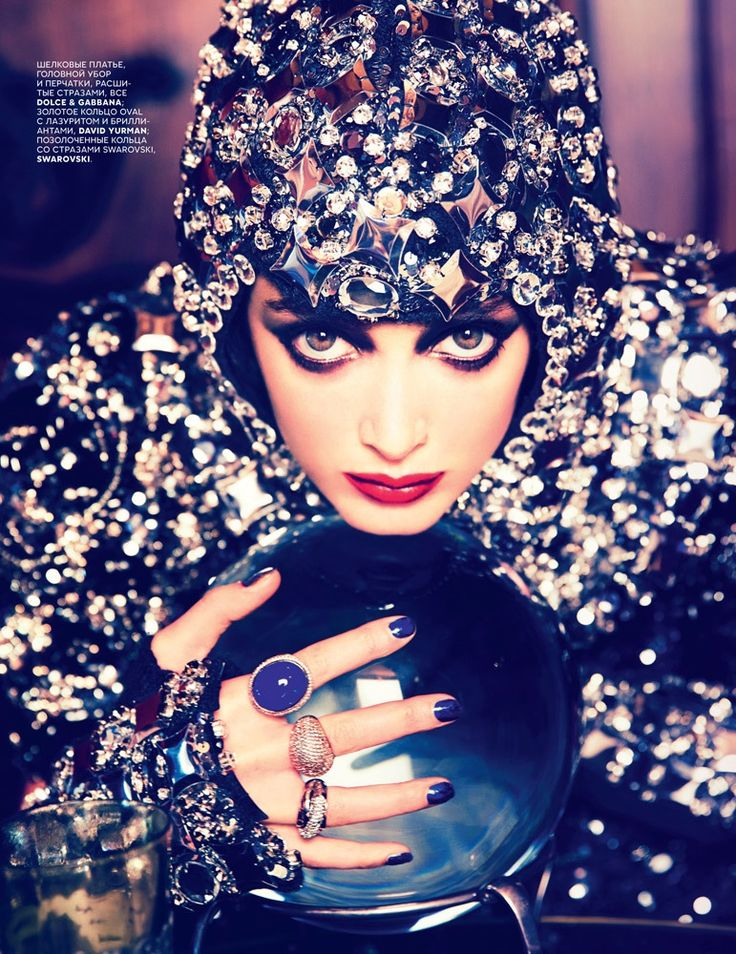 Charlotte Le Bon is All About the Gems in Ellen Von Unwerth Shoot for Vogue Russia
