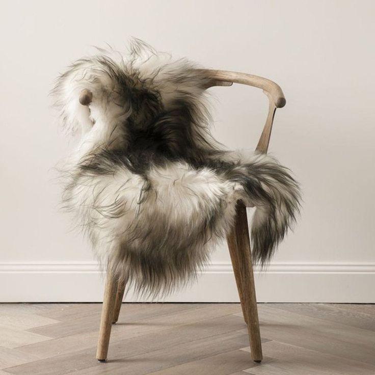 Icelandic Sheepskin - Flecked Grey