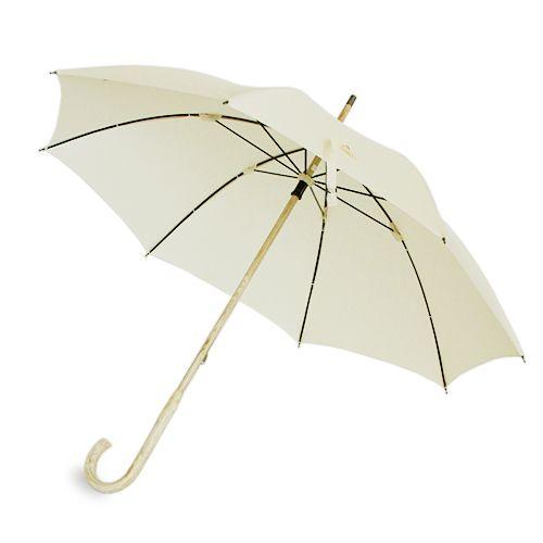 CINQ plus | 無地の長傘(白)