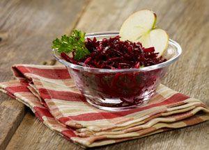 Salade de betteraves et pommes | Recettes saines pour les boîtes à lunch | Tremplin Santé