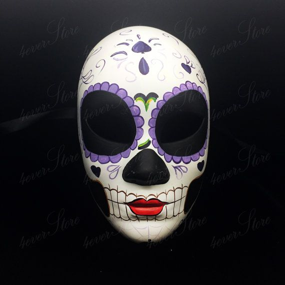 Our Day of the Dead Mask Collection is designed and hand painted with the finest resin plaster. All paint work is heavily inspired by the three-day