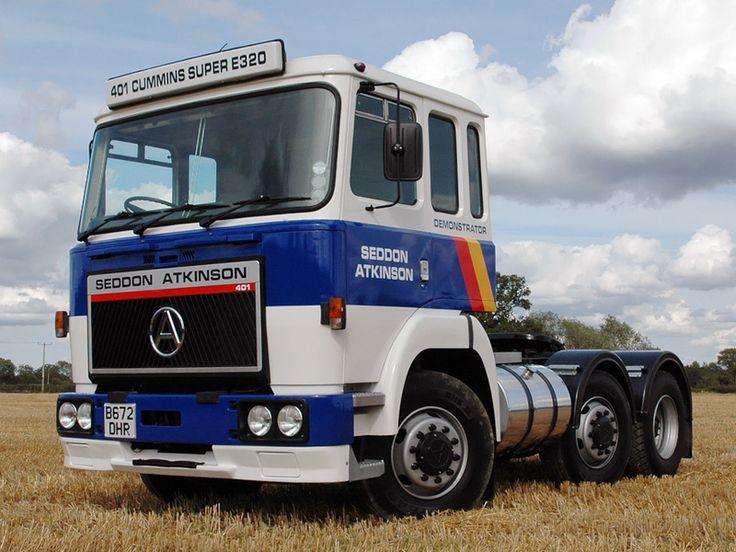 Seddon Atkinson 401 6x2 fastest truck I've ever driven so quick it was scary