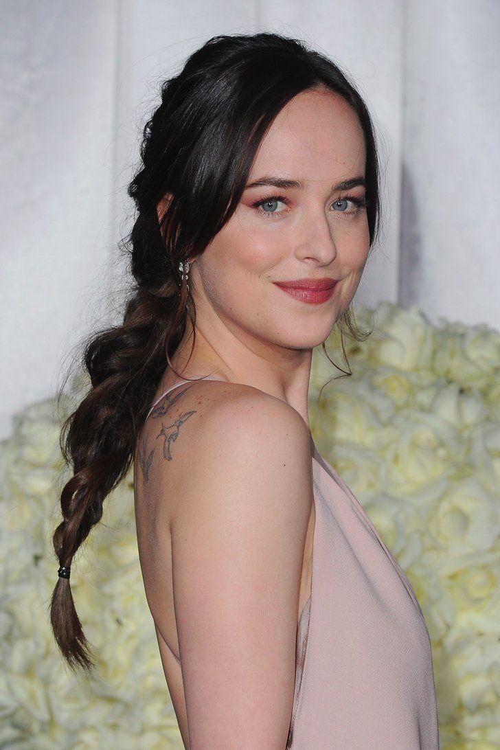 Dakota Johnson's Sexy, Messy Braid Is Your Valentine's Day Hair Inspiration