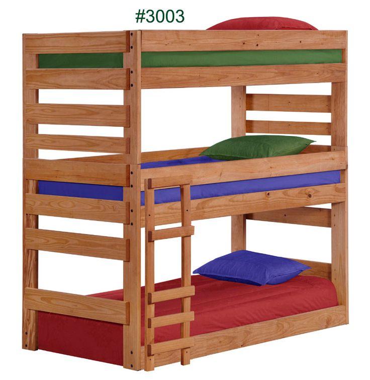 Best 8 Best Solid Wood Bunk Beds Images On Pinterest 3 4 Beds 640 x 480