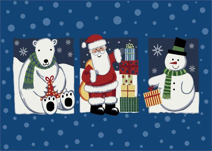Winter Seasonal 'Tis the Season' Christmas Doormat