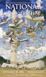2006 Library of Congress National Book Festival Poster. Poster Artist: Gennady Spirin.