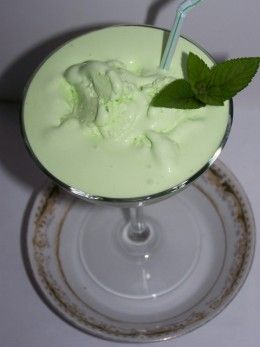 Grasshopper Ice Cream Drink Recipe. If you're from WI, this is your after dinner drink at the restaurant.