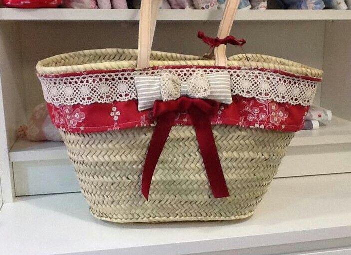 Mejores 113 im genes de cestos decorados en pinterest - Cestos de mimbre decorados ...