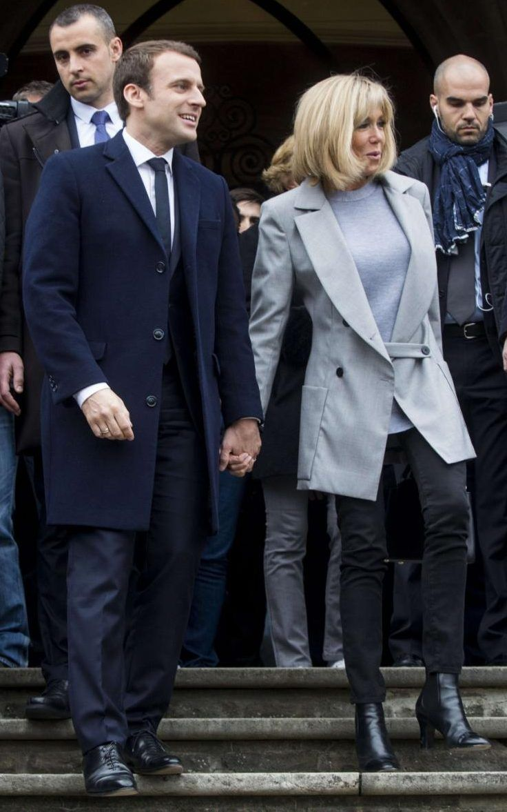"""Look back, at the new First Lady of France, Brigitte Trogneux's most elegant looks."" http://www.telegraph.co.uk/news/2017/05/05/course-emmanuel-macron-has-much-older-wife-french-revere-experienced/"