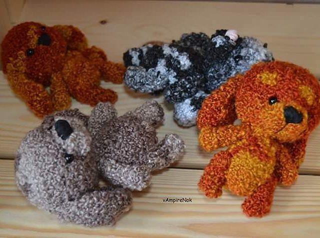 WEBSTA @ _vampirenok_ - Стадко#собака собралось кудрявой разношерстной компанией.Яркие личности🤗😊💝 #crochet #amigurumi #handmade #my_amigurumi #вязание #крючком #игрушки #амигуруми #handcraft #craft #amigurumis #instacrochet #crocheting #あみぐるみ #влентусчастья  #magcrafts_ishow #weamiguru #handmade_hello  #artisanland #love #cute #bestmasterpiece #dog#colors #mycreative_world #magikstore #toys_gallery
